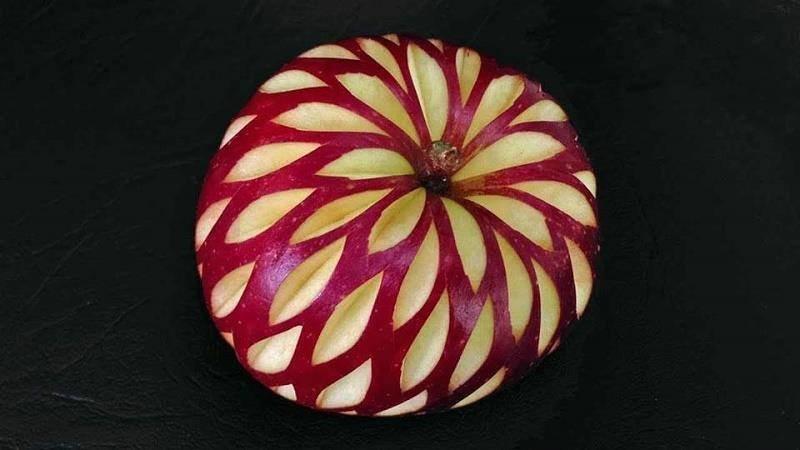 فن تقشير التفاح #غرد_بصورة-2