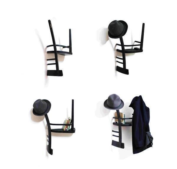 افكار لاعادة تجديد الكراسي ال#قديمة او لاستغلالها في اشياء اخرى صوره 7