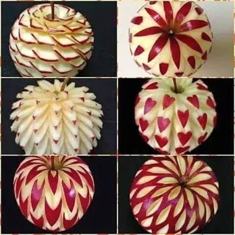 فن النحت على الفاكهة