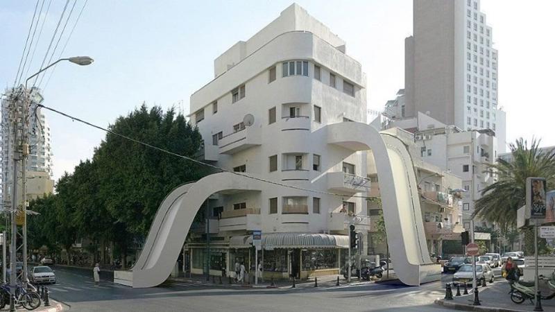 مباني الفوتوشوب #هندسة_معمارية صوره 7