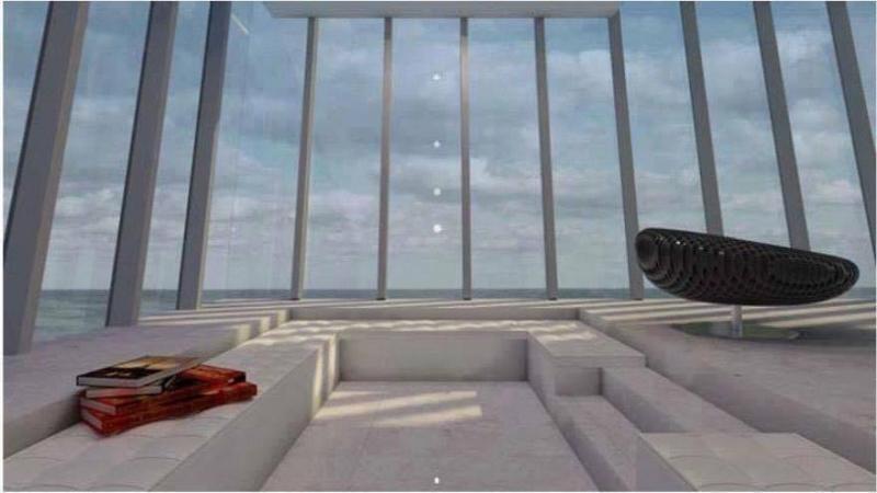 منزل معلق على حافة جبل يطل على المحيط - صورة ٤
