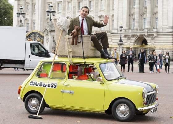 #مستر_بين يحتفل بمرور ٢٥ عاما على أول ظهور له بالتلفزيون البريطاني - صورة ٣