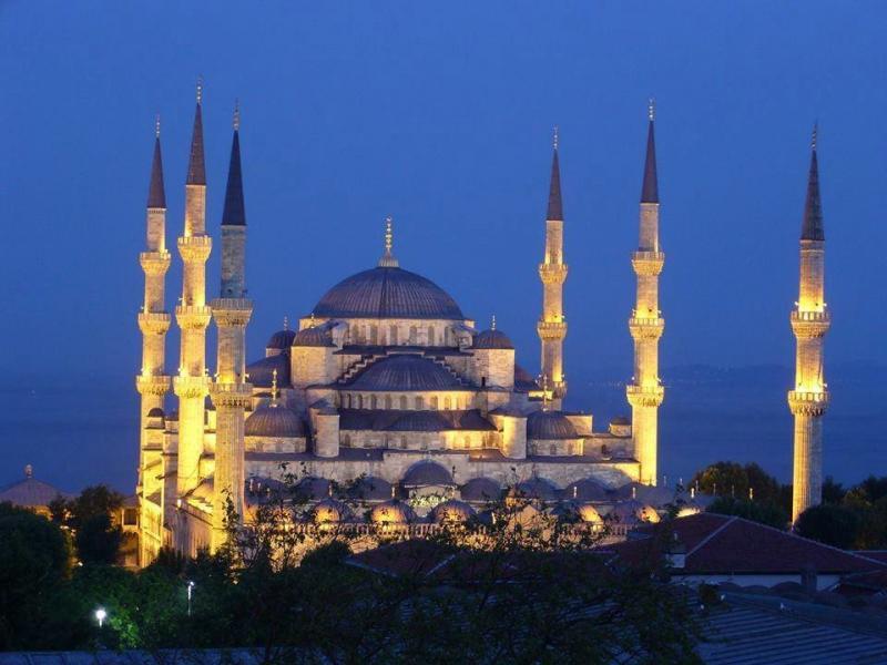 مسجد السلطان أحمد في #اسطنبول #تركيا صورة 4