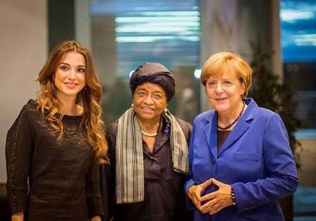 #الملكة_رانيا تتسلم اليوم جائزة لجهودها الإنسانية في #المانيا