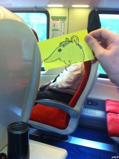رسام يحول المسافرين إلى شخصيات كرتونية بشكل طريف #غرد_بصورة -4