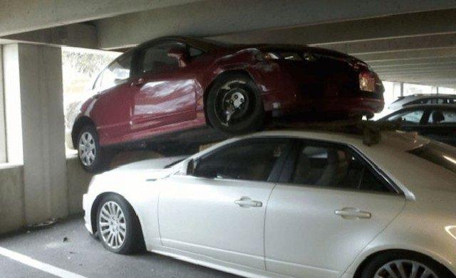 حوادث سيارات عجيبة #غرد_بصورة -5