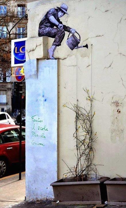 #منوعات #فن الرسم على #الجدران صوره 3