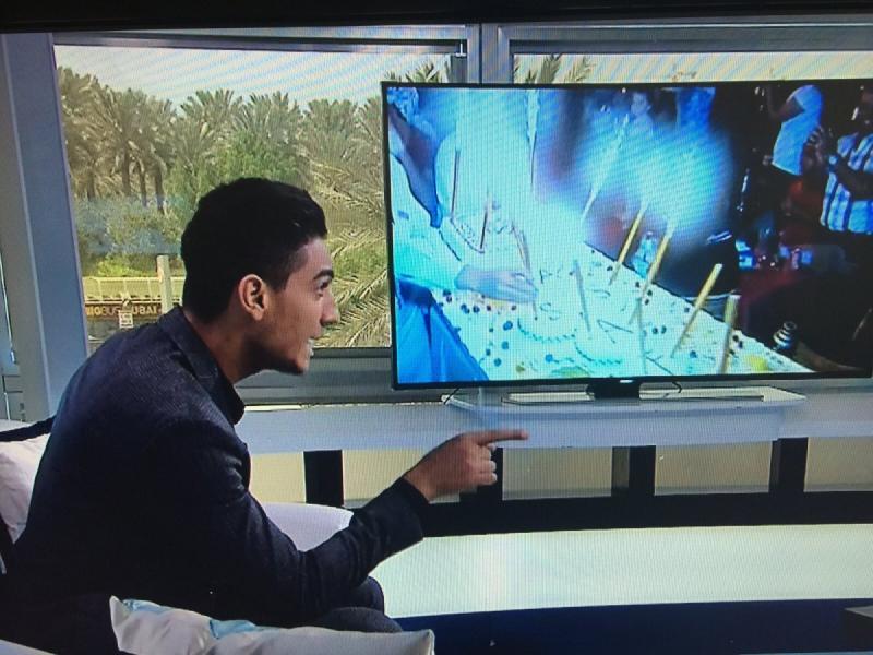 مقابلة #محمد_عساف على ام بي سي ورسائل أصدقاء ومعجبي محمد عساف -6
