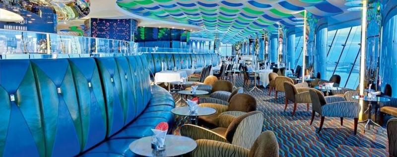 مقهى سكاي فيو - فندق #برج_العرب #دبي ٤