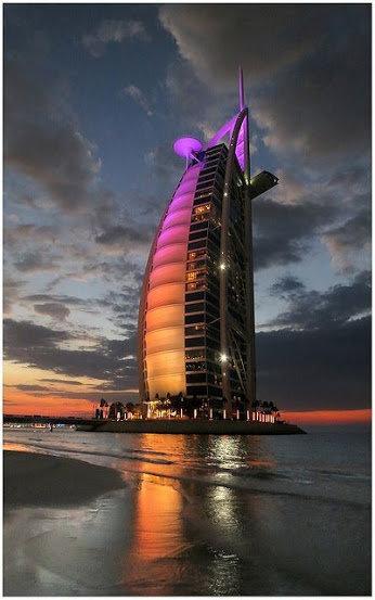 فندق #برج_العرب في #دبي