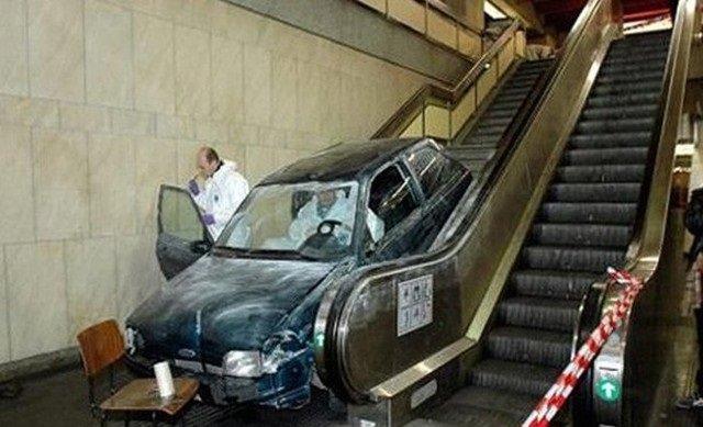 حوادث سيارات عجيبة #غرد_بصورة -3
