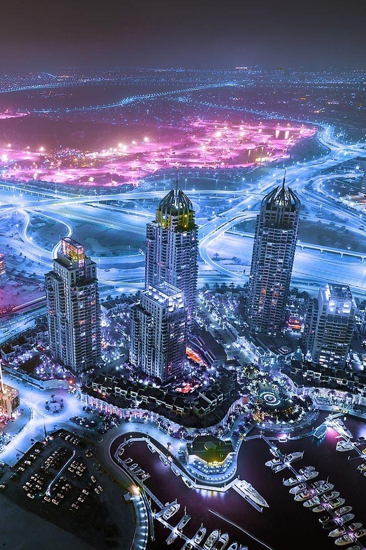 منطقة المارينا في #دبي