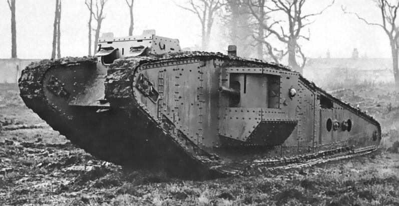 أسلحة من الحرب العالمية الأولى (1914-1918) -٤