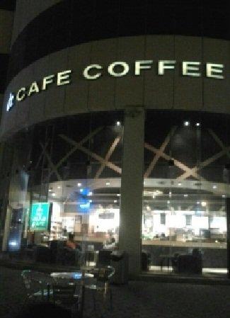 مقهى د/كافيه الربيع مخرج 5،شارع الملك عبد العزيز #الرياض