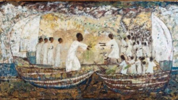جوجل تحتفل بالفنانة التشكيلية المصرية سودانية المولد تحية حليم 1919- 2003 -2