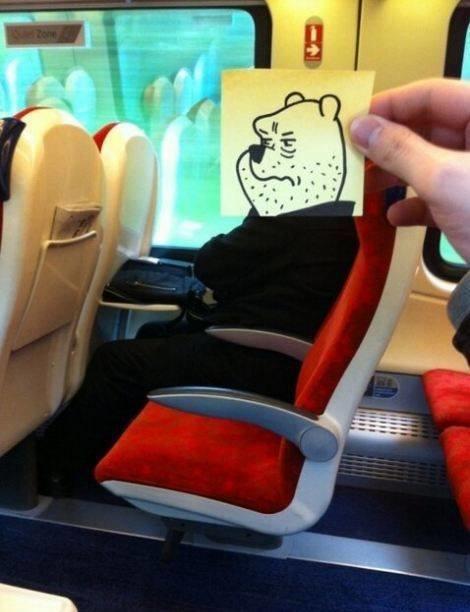 رسام يحول المسافرين إلى شخصيات كرتونية بشكل طريف #غرد_بصورة -3