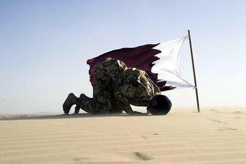 صور متداولة في هاشتاق #جيش_قطر_يتجه_لسحق_الحوثي - صورة ٣