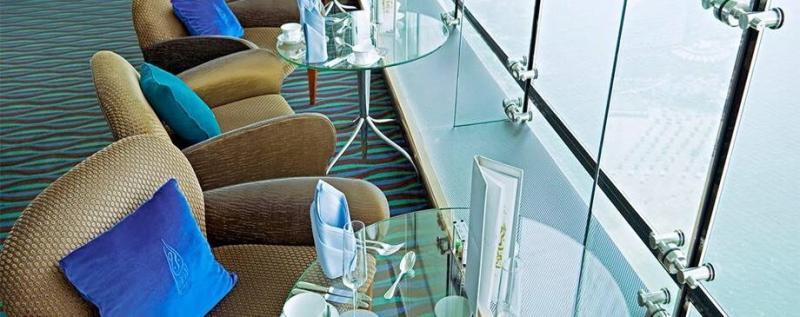 مقهى سكاي فيو - فندق #برج_العرب #دبي ٣