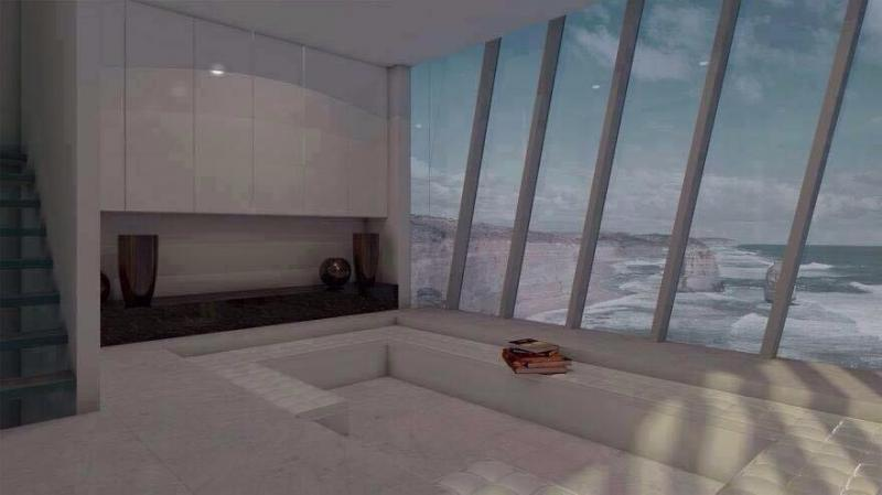 منزل معلق على حافة جبل يطل على المحيط - صورة ٣
