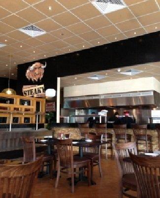 مطعم ستيكى -النخيل شارع الأمير تركى بن عبد العزيز -الطريق الأول- #الرياض