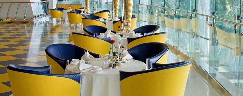 مطعم صحن الدار - فندق #برج_العرب #دبي ٢