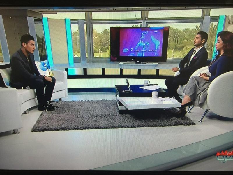 مقابلة #محمد_عساف على ام بي سي ورسائل أصدقاء ومعجبي محمد عساف -8