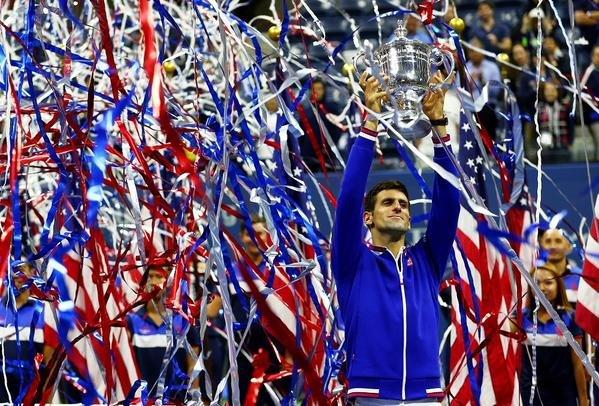 دجوكوفيتش يتفوق على روجر فيدرير وينتزع لقب بطولة أمريكا المفتوحة #تنس