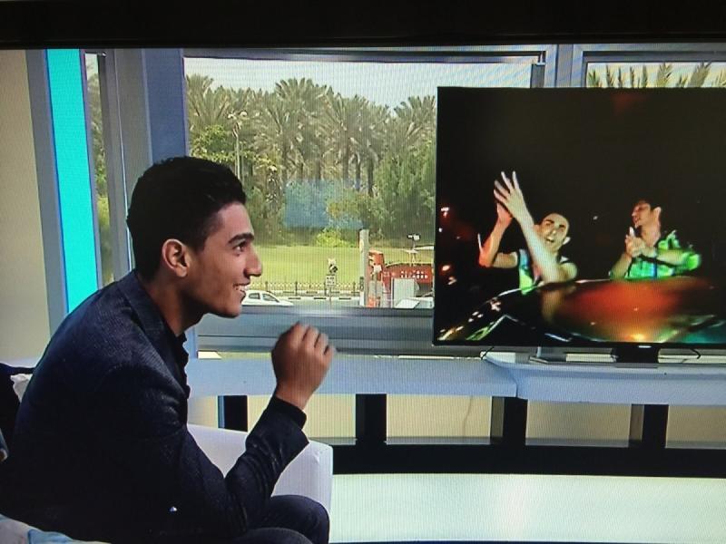 مقابلة #محمد_عساف على ام بي سي ورسائل أصدقاء ومعجبي محمد عساف -7