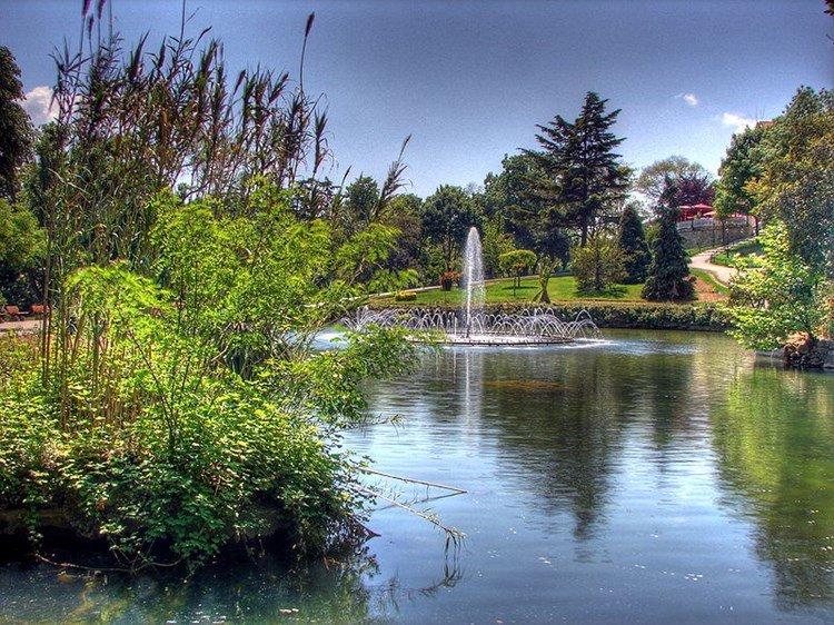 حديقة أيميرجان #اسطنبول #تركيا