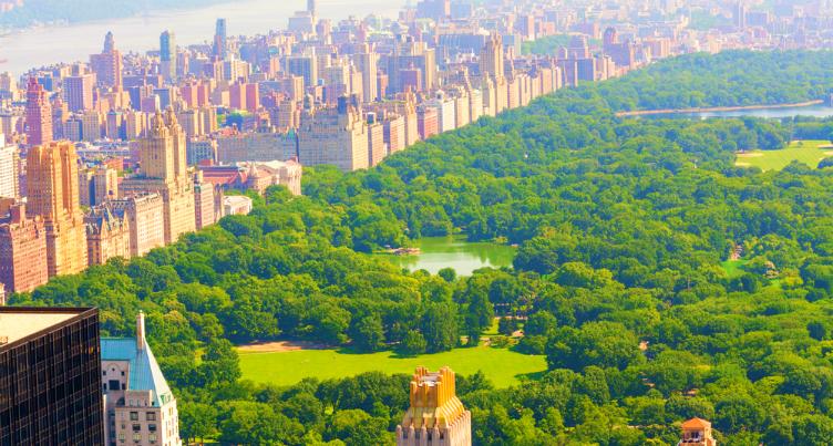 حديقة سنترال بارك #نيويورك #الولايات_المتحدة