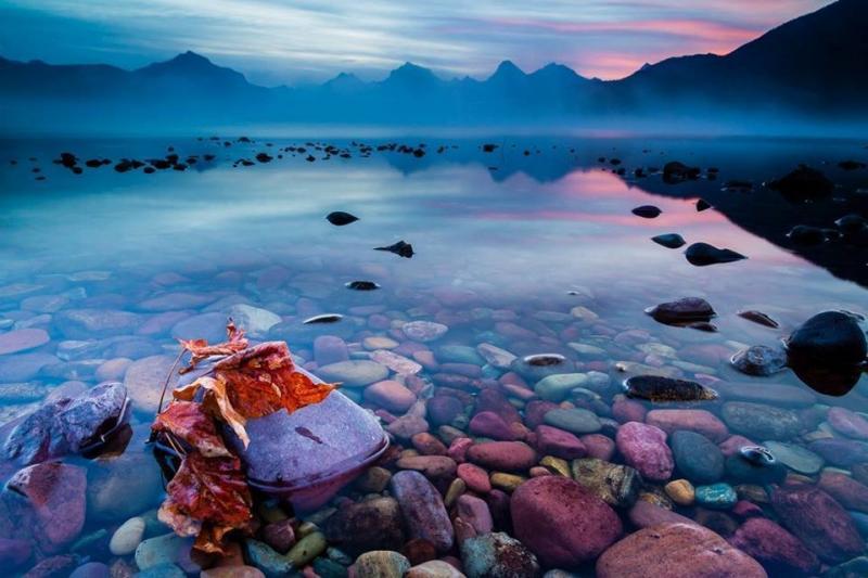 بحيرة ماكدونالد في #اميركا -4