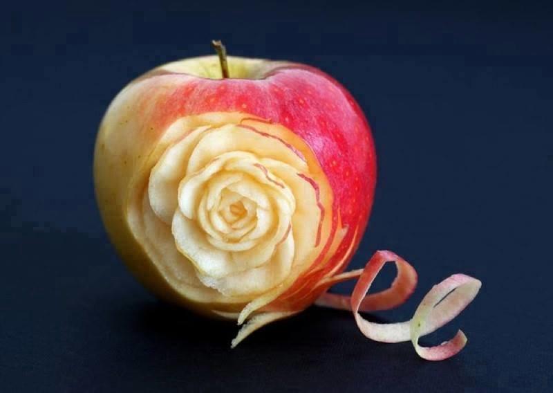 فن تقشير التفاح #غرد_بصورة-1