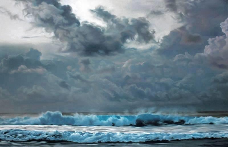 فنانة تقوم برسم لوحات مدهشة بإستخدام أصابعها فقط #غرد_بصورة -2