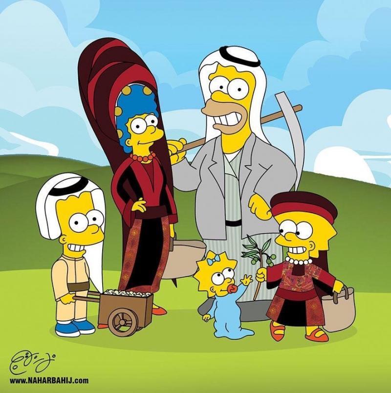 الشاب الأردني نهار بهيج يقوم بتعريب الشخصيات الكرتونية الأجنبية #كاريكاتير - صورة ١