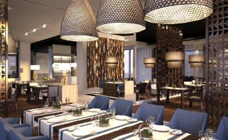 مطعم ذا كوف - فندق نارسيس - شارع العلية - شارع التحلية #الرياض