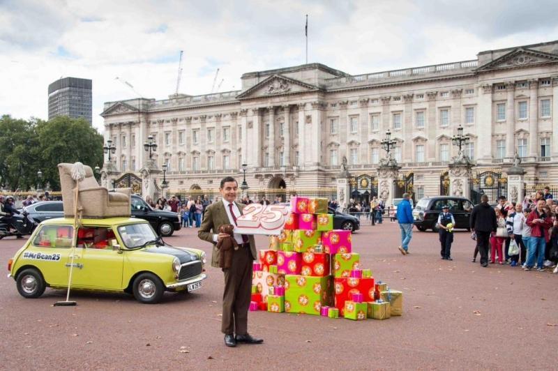 #مستر_بين يحتفل بمرور ٢٥ عاما على أول ظهور له بالتلفزيون البريطاني - صورة ٢