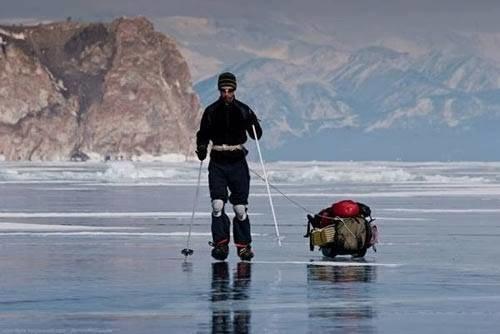 #البحيرة_الفيروزية_المتجمدة  فى #سيبيريا عمرها 25 مليون سنة وعمقها 1700 متر - صورة 5