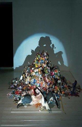 الفن يحول القمامة إلى تحف فنية #غرد_بصورة -3