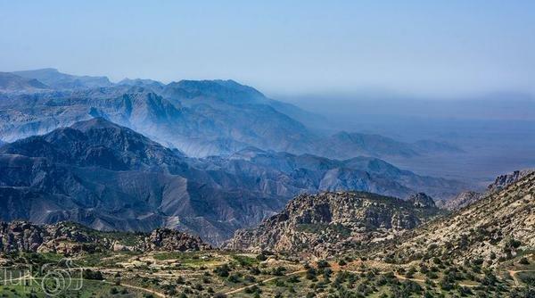 محمية #ضانا في محافظة #الطفيلة جنوب #الأردن -2