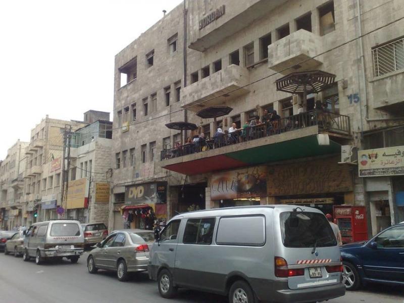 صورة من مقاهي وسط البلد #الأردن-1