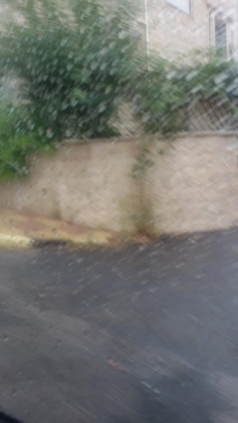صورة من أول منخفض جوي من الرابية #مطر #الاردن -1