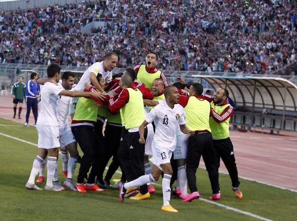 ألف مبروك فوز #الأردن 3 - 0 #طاجكستان ضمن التصفيات الآسيوية المزدوجة المؤهلة لكأس أسيا وكأس العالم