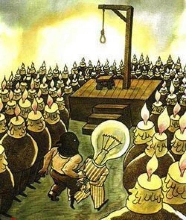 بعض الأفكار تقتل لعدم جاهزية المجتمع لها