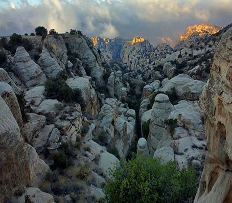 محمية #ضانا في محافظة #الطفيلة جنوب #الأردن -4