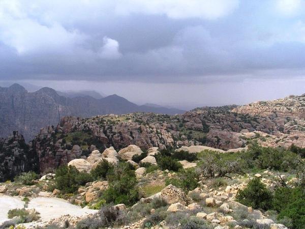 محمية #ضانا في محافظة #الطفيلة جنوب #الأردن -5