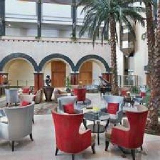 مقهى بالم كورت فندق هيلتون العين، حي ساروج، العين، #أبوظبي