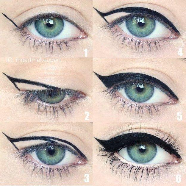 خطوات وضع #مكياج العيون -6