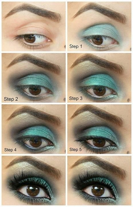 خطوات وضع #مكياج العيون -16