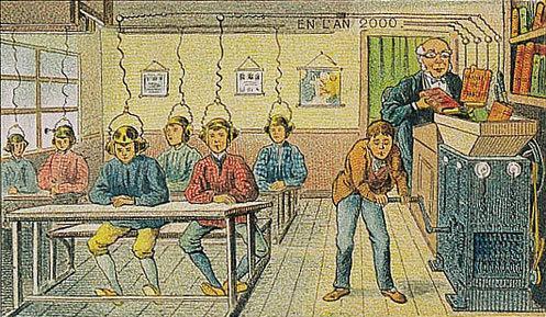 توقعات الفنان الفرنسي فاليمارد للعالم عام ٢٠٠٠ والتي رسمها عام ١٩١٠ - الكتب الصوتية