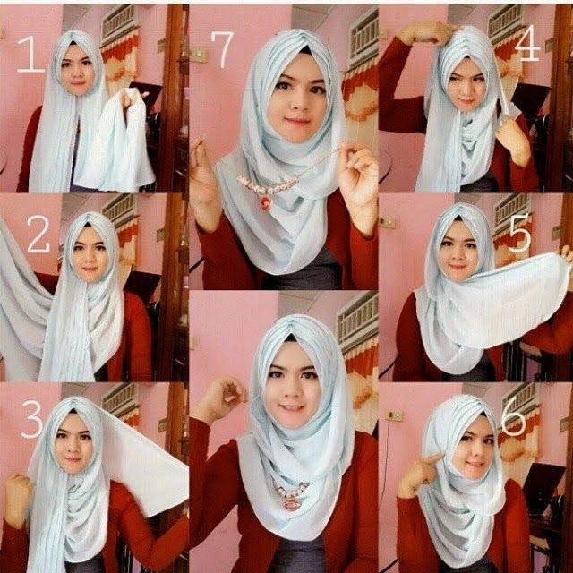طرق أنيقه للف #الحجاب - 16